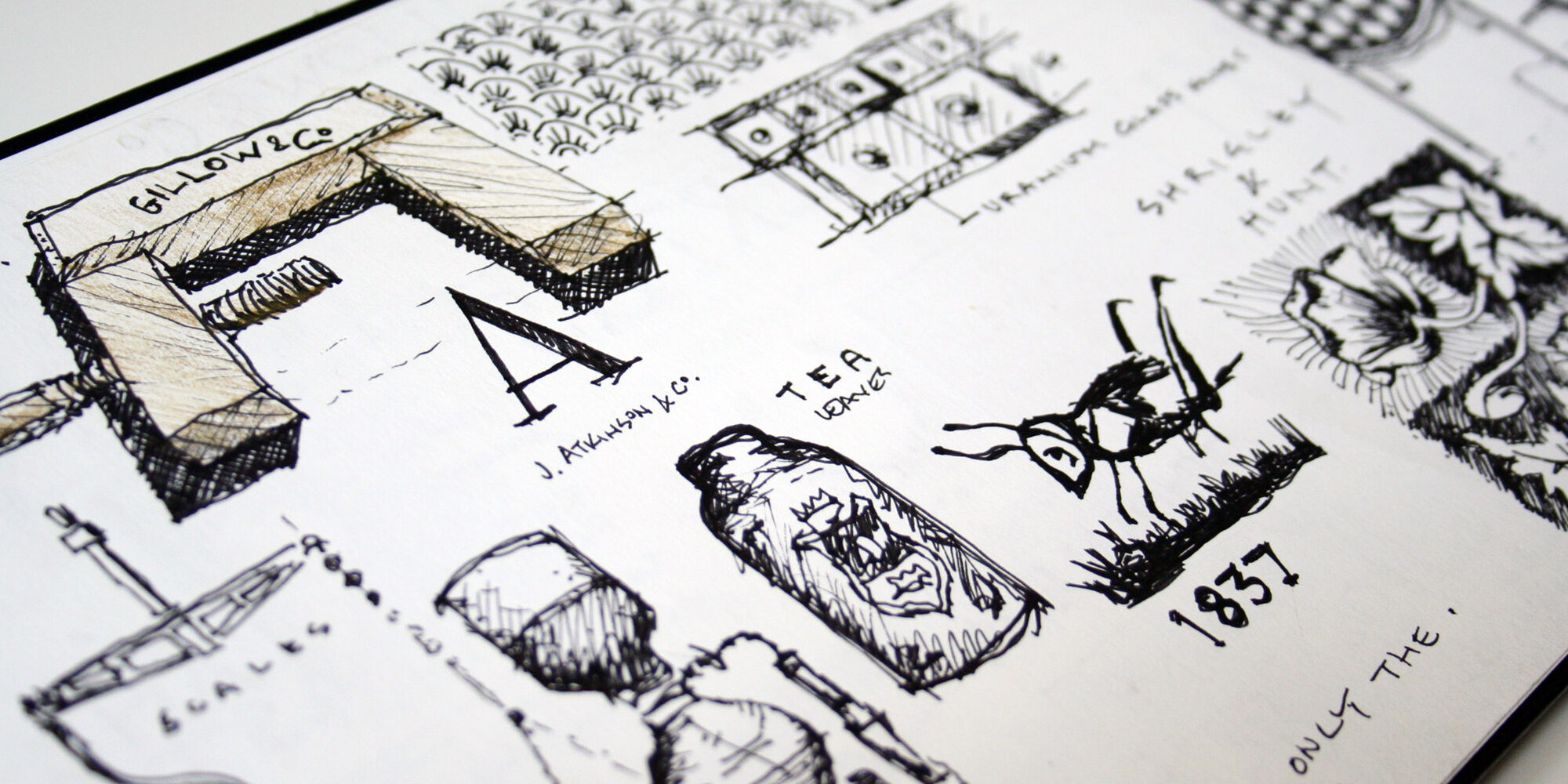 HC - Lancaster Sketch Book